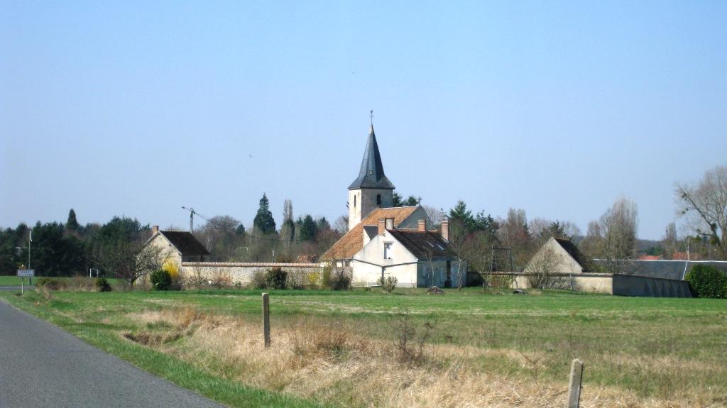 Le village de Courcy aux Loges